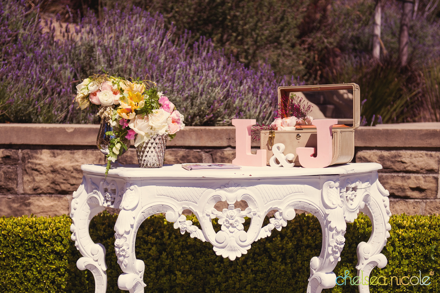 cute guest book table