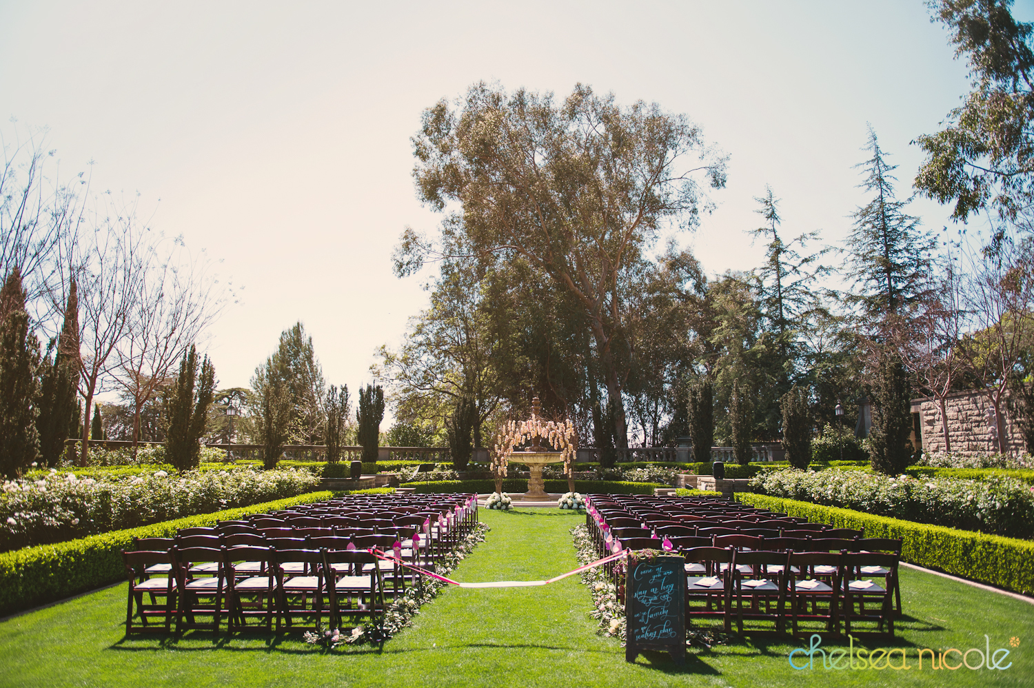 L j wedding at greystone mansion in beverly hills las for The greystone