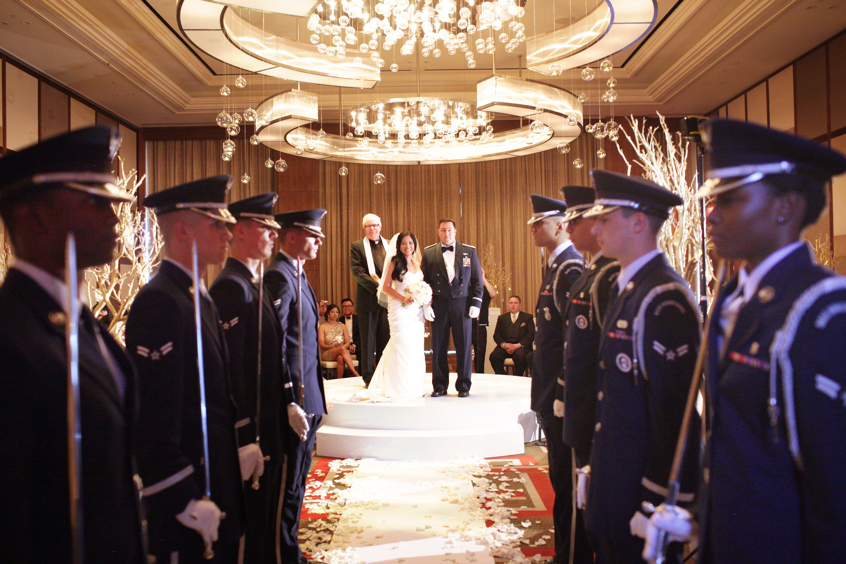 Military wedding Las Vegas