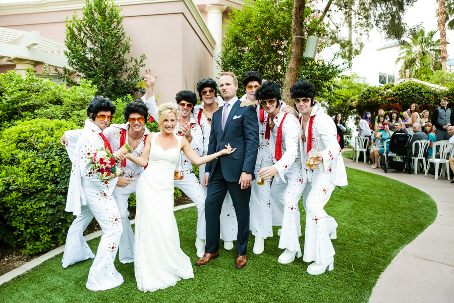 flamingo las vegas wedding bonnie and brian las vegas