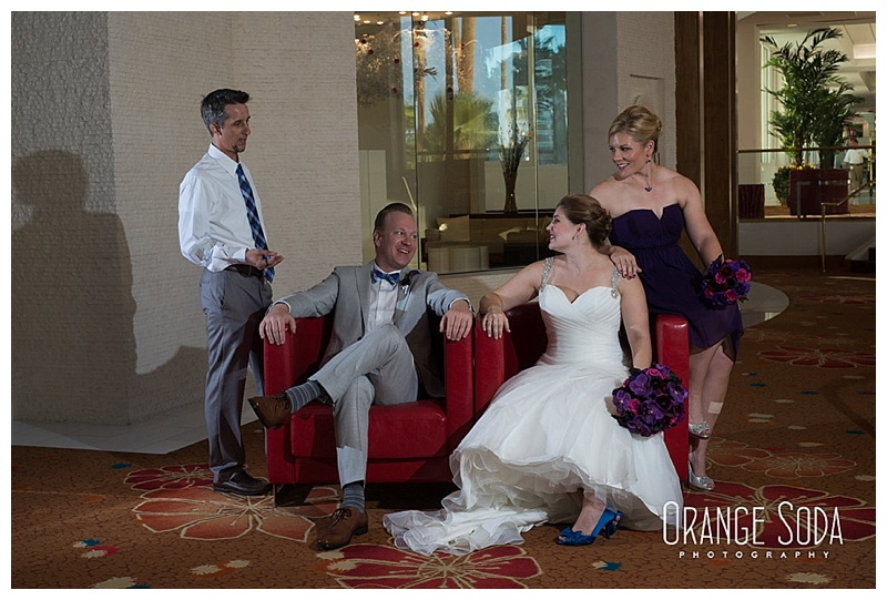 Las vegas Tropicana Wedding