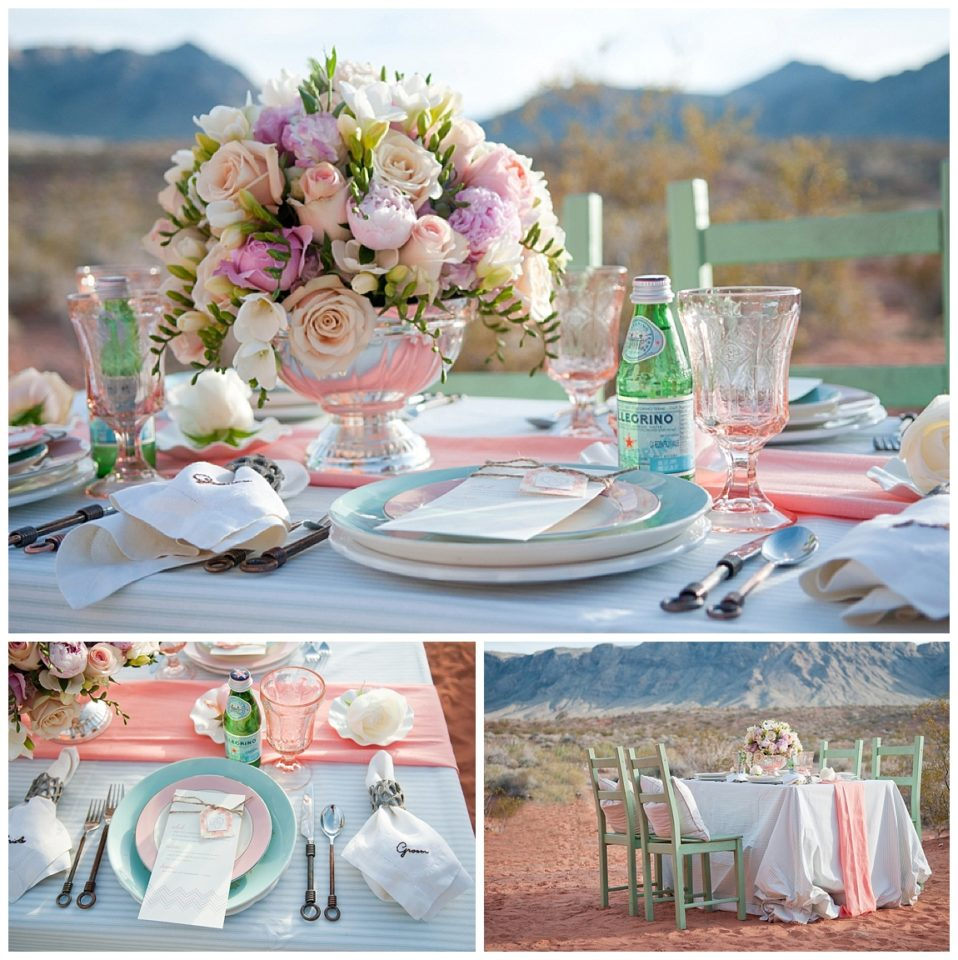 Las Vegas Wedding: Las Vegas Wedding Place Settings