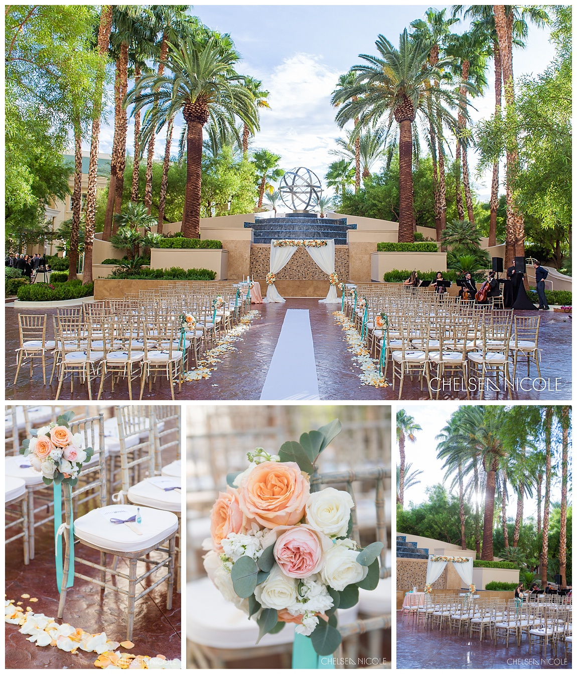Four Seasons Las Vegas Wedding: Joni & Erick